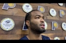 T.J. Warren discusses his quest to improve on defense during his first year as a Pacer