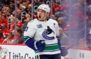 Canucks' Bo Horvat nets 1st career hat trick in win over Red Wings