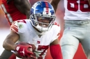Giants' injury report, 10/23: Sterling Shepard remains in concussion protocol