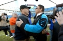 Panthers' Rivera still pledges allegiance to Cal, balks at word 'Stanford'