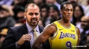 Frank Vogel reveals the major role Rajon Rondo will play for the Lakers when he returns from injury