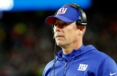Giants coach Pat Shurmur on injuries, ball security and DPI challenges