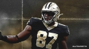 Jared Cook did not practice on Wednesday with the Saints