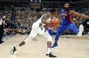 Detroit Pistons vs. Indiana Pacers: Photos from opener