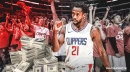 Clippers' Patrick Beverley reacts to getting fined for throwing game ball into the stands vs. Lakers