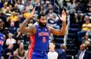 Detroit Pistons observations: Andre Drummond, Luke Kennard have monster games