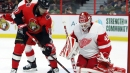 Duclair scores twice to lead Senators over Red Wings