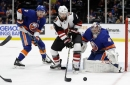 Coyotes, Kuemper get outworked in loss to Islanders