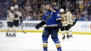 Blues' Tarasenko to miss road trip while dealing with upper-body injury
