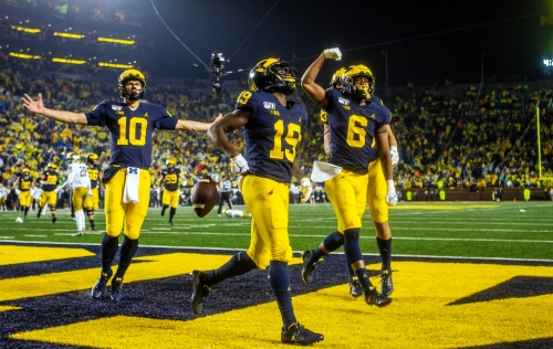 Why'd it take so long for Michigan football to look this good?