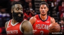 Josh Hart explains meme-worthy reaction to James Harden bouncing the ball off his face