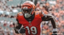 Bengals' Auden Tate rises for impossible catch vs. Rams