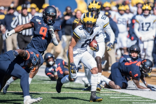Michigan football's Jim Harbaugh: No update on status of Ronnie Bell