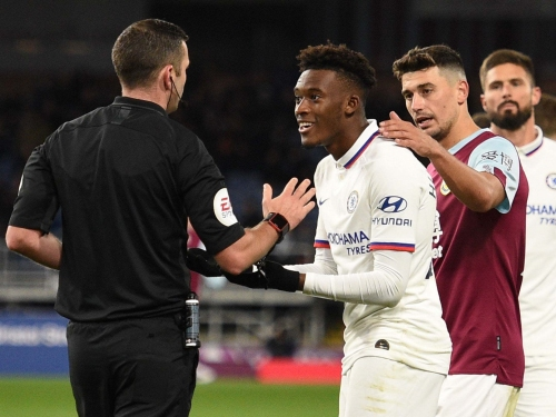 Chelsea: Frank Lampard has 'no need' to speak to Callum Hudson-Odoi about Burnley dive