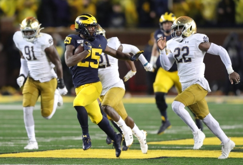 Michigan football sorts out running backs scene with emergence of Hassan Haskins