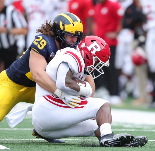 How Michigan football's Jordan Glasgow adds to family's legacy: With some 'looseness