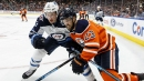Oilers' Sheahan leaves game after hit by Blue Jackets' Dubois