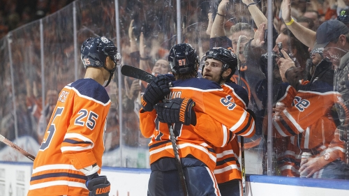 Draisaitl scores twice more as Oilers roll past Blue Jackets