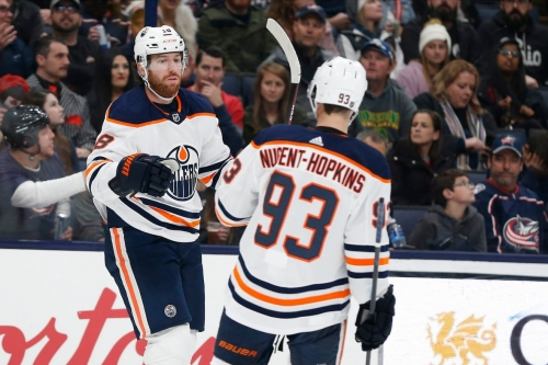 Oilers snap 2-game slide with win over Blue Jackets