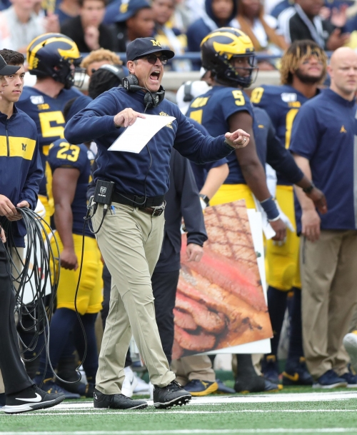 Michigan football's offense still has Jim Harbaugh's fingerprints all over it