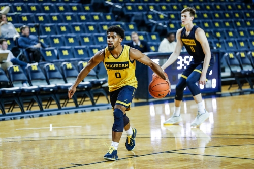 Michigan basketball's David DeJulius sticking out to Juwan Howard