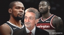 Ted Leonsis wonders why everybody is so positive about Kevin Durant, Nets but not John Wall
