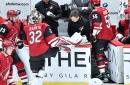 Should NHL goalies ditch quick-release skates? Antti Raanta latest to make 'slide of shame'