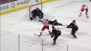 Athanasiou puts puck on plate for Mantha with sweet saucer pass