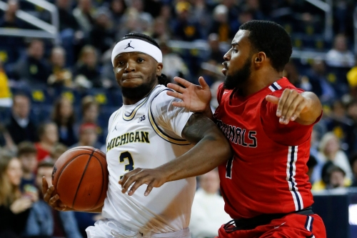 Michigan basketball vs. Saginaw Valley State University: Photos from the game