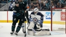 Hellebuyck makes 51 saves, Ehlers scores late as Jets top Sharks