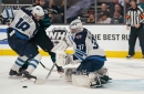Connor Hellebuyck's 51 saves guide Jets to stunning win over Sharks