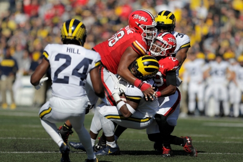 Michigan Wolverines vs. Maryland Terrapins: Photos from College Park