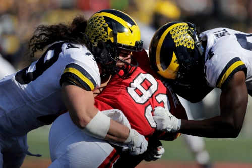 Michigan football's defense regrouped after Wisconsin loss, back to dominating