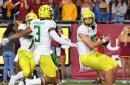 Oregon Destroys USC in Statement Win, Ducks 56 - Trojans 24