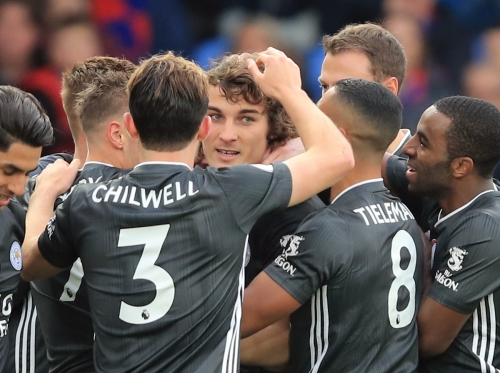Leicester City beat Crystal Palace to move third thanks to goals from Caglar Soyuncu and Jamie Vardy