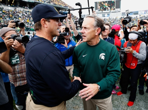 Michigan vs. Michigan State football will be noon Nov. 16 on Fox in Ann Arbor