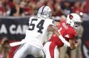 Raiders release Brandon Marshall with rookie Isaiah Johnson coming off IR