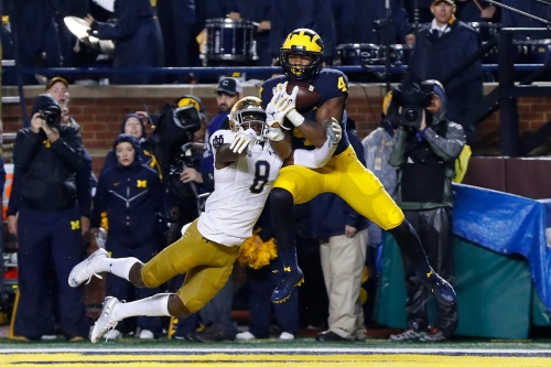 Michigan football's cure to passing game may be to pepper Nico Collins