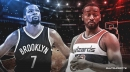 Nets' Kevin Durant, Wizards' John Wall attend the NCAA Champions Classic