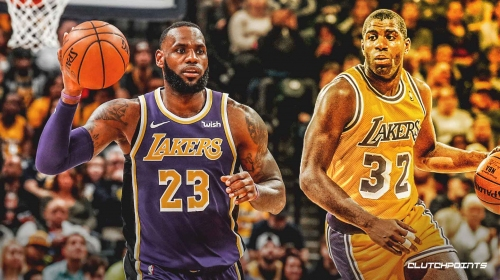 LeBron James is first Lakers player to have three straight triple-doubles since Magic Johnson