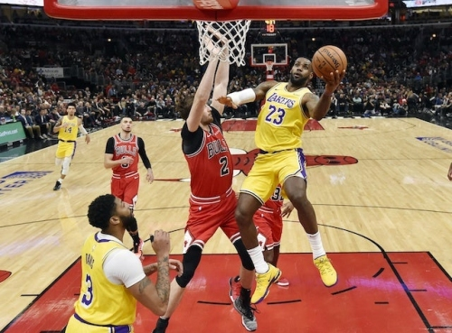 LeBron James, Lakers Bench Leads Massive Fourth Quarter Comeback Win Over Bulls