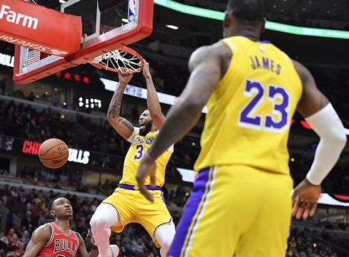 Lakers Highlights: LeBron James Notches Third Consecutive Triple-Double In Comeback Win Against Bulls