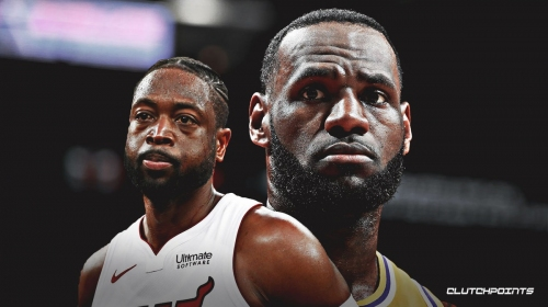 Dwyane Wade reacts to notion that anybody thought LeBron James was washed