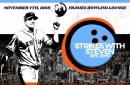 """Come bowl for a good cause with #32 at """"Strikes with Steven"""" tomorrow night"""