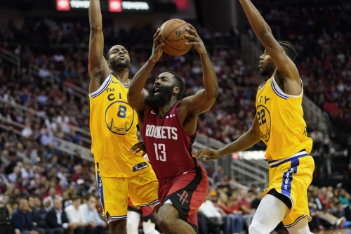 Warriors 3 Big Things: Burks pops, but Harden, Rockets expose Baby Dubs' lax defense