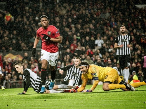 Manchester United vs Partizan result: Anthony Martial reminds Old Trafford what it's been missing in Europa romp