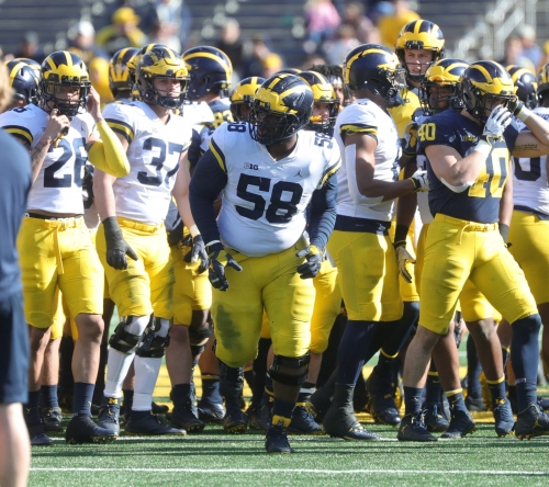 Michigan football's D-line recruits still chasing the breakthrough Jim Harbaugh projected