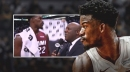 Video: Heat's Jimmy Butler jokes 'it's about me' as he sends off teammates videobombing his interview