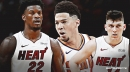 Tyler Herro told Jimmy Butler to get out the way because he wanted to guard Devin Booker