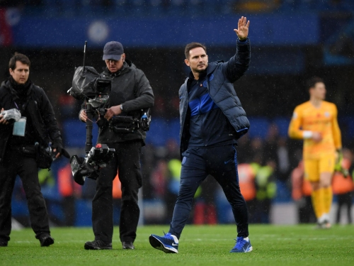 Chelsea vs Crystal Palace: Frank Lampard delighted by his side's 'game management' as Blues go second